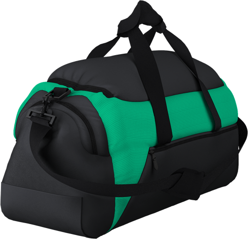 MATCHDAY HOLDALL BAG BLACK/EMERALD
