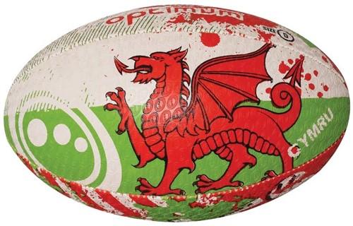 Optimum rugbybal Wales - maat 5