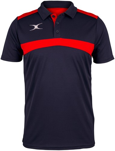 Gilbert POLO PHOTON D NVY/RED 7-8