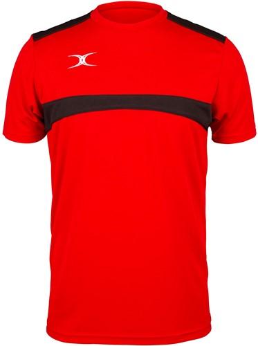 Gilbert TEE PHOTON RED/BLACK XL