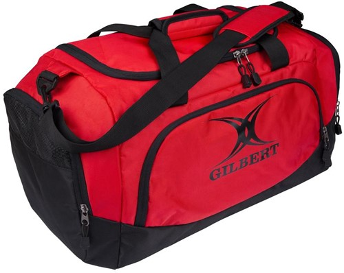 Gilbert CLUB PLAYER SPORTTAS V3 ZWART/ROOD