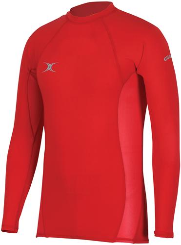 Gilbert Baselayer Thermoshirt Atomic Red