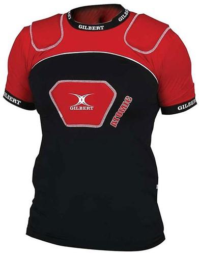 Gilbert shoulderpads / schouderbescherming Atomic V2 Blk/Red