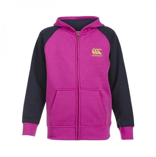 Canterbury Hoodie Zip thru meisjes Roze 164