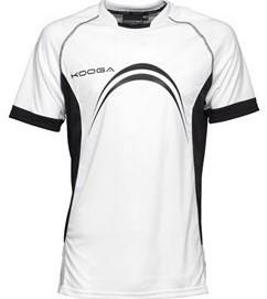 Kooga Elite Panel T-Shirt  Wit - XSB