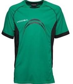 Kooga Elite Panel T-Shirt  Groen - maat 116