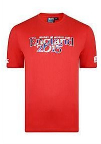 Canterbury T-shirt World Cup 2015 kids  Rood - 128