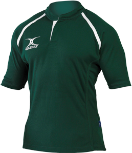 Gilbert SHIRT XACT II GREEN 7-8