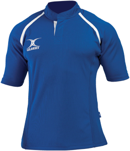 Gilbert SHIRT XACT II ROYAL 7-8