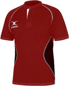Gilbert SHIRT XACT V2 RED/BLACK L