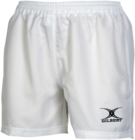 Gilbert SHORTS SARACEN WHITE LDS 12