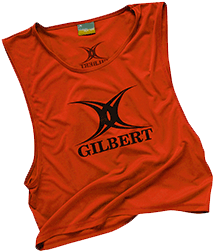 Gilbert BIB POLYESTER RED BOYS