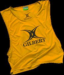 Gilbert BIB POLYESTER YELLOW YOUTHS