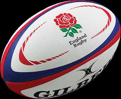Gilbert rugbybal REPLICA ENGLAND - maat 4