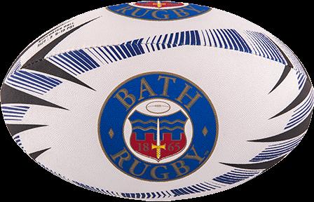 Gilbert rugbybal Supporter Bath Sz 5