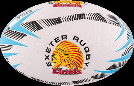 Gilbert rugbybal Supporter Exeter Sz 5