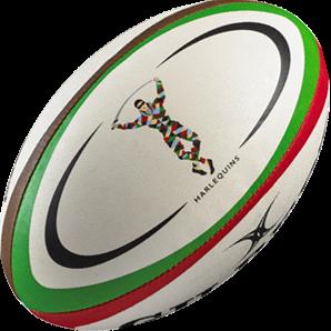 Gilbert rugbybal REPLICA HARLEQUINS - maat 5