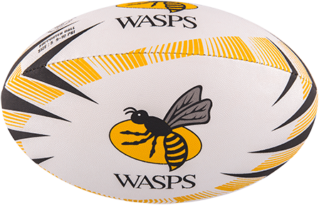 Gilbert BAL SUPPORTER WASPS MAAT 4