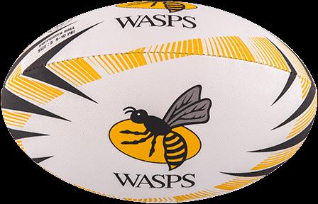 Gilbert rugbybal SUPP WASPS - maat 4