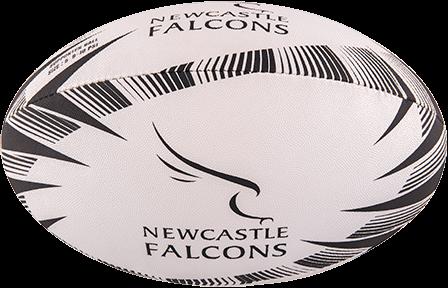 Gilbert rugbybal Supporter Newcastle maat 4