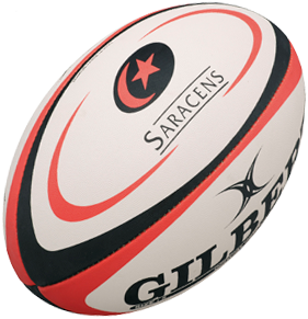 Gilbert BAL REPLICA SARACENS MINI