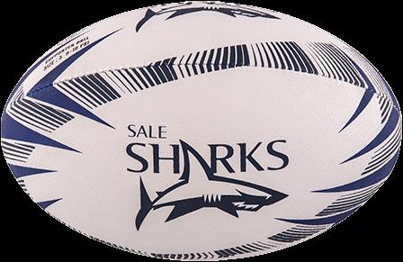 Gilbert rugbybal SUPP SALE SHARKS - maat 4