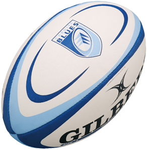 Gilbert rugbybal REPLICA CARDIFF - maat 4