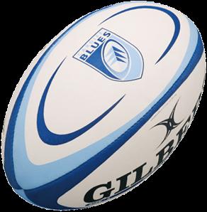 Gilbert rugbybal REPLICA CARDIFF - Midi 24cm