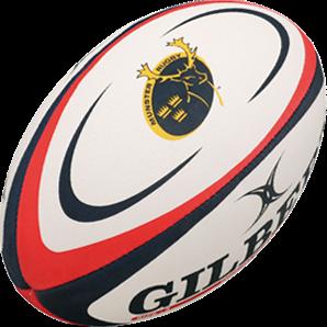 Gilbert rugbybal REPLICA MUNSTER - maat 4