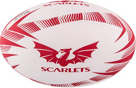 Gilbert rugbybal SUPPORTER SCARLETS - maat 4