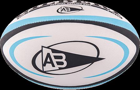 Gilbert rugbybal REPLICA BAYONNE - Mini 15cm