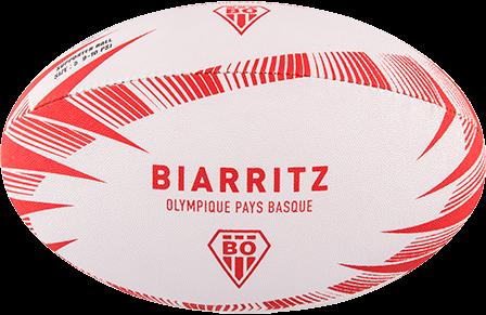 Gilbert rugbybal Supporter Biarritz Sz 5