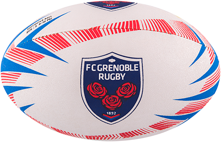 Gilbert rugbybal SUPPORTER GRENOBLE - maat 5