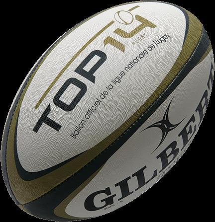 Rugbybal Replica Top 14 mini 15 cm