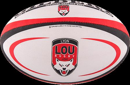 Gilbert rugbybal REPLICA LYON - Mini 15cm