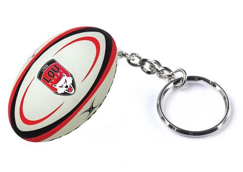 Gilbert rugbybal sleutelhanger LYON