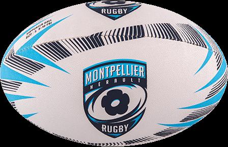 Gilbert rugbybal SUPP MONTPELLIER - maat 5