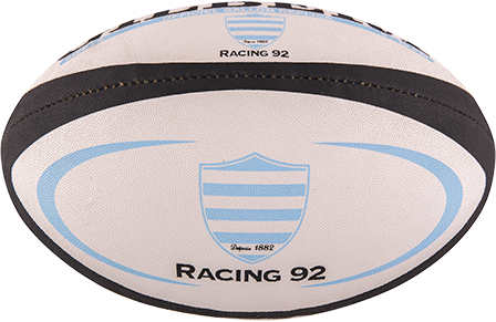 Gilbert rugbybal REP METRO RACING 92 - Mini 15cm