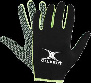 Gilbert GLOVE ATOMIC BLACK/GREEN S