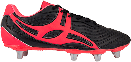 Gilbert rugbyschoenen S/St V1 Lo8S Hot Red 8.5