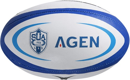 Gilbert rugbybal REPLICA AGEN - Midi 24cm