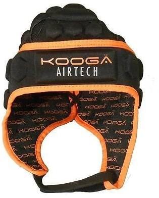 Kooga Rugby scrumcap Stag Airtech Loop  Oranje - 53 cm hoofdomtrek - 2XS