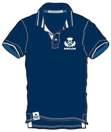 Rugby Distribution Schotland Pique Polo heren Size : S