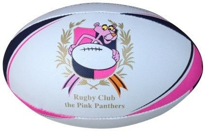 Pink Panthers Rugbybal maat 4