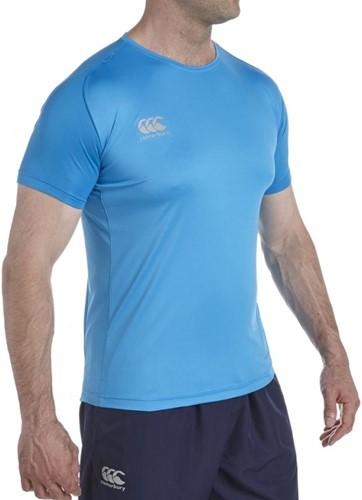 CANTERBURY VAPODRI SUPERLIGHTPOLY  TEE - 3XL - DRESDEN BLUE