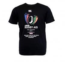 CANTERBURY RUGBY AID TEE - dames 10 S - BLACK