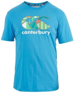 CANTERBURY UGLIES TEE - M - MALIBU BLUE