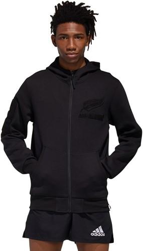ALL BLACKS sweat jacket met Capuchon en rits