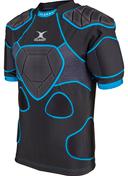 Gilbert shoulderpads Xp 1000 Black/Blue