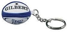 Gilbert rugbybal sleutelhanger SALE SHARKS